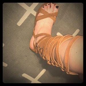 Free People x Jeffrey Campbell Romana sandal